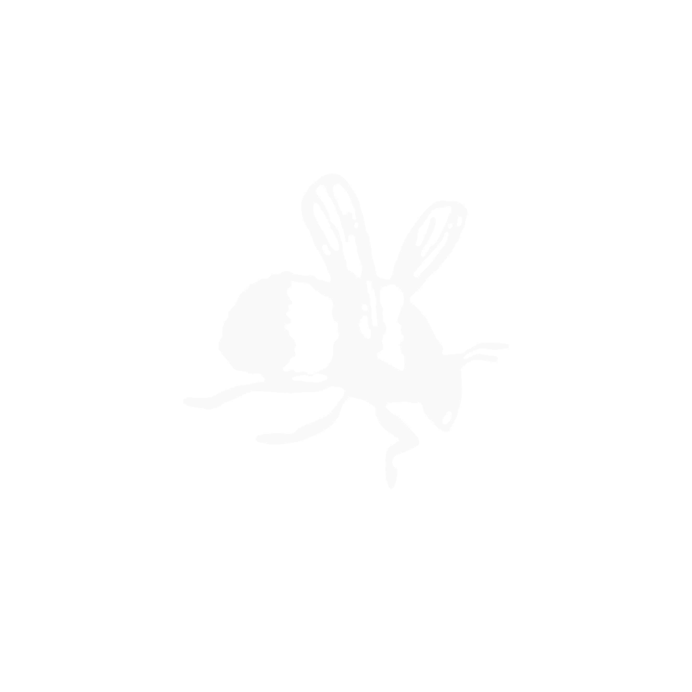 Large Lucky Clover Necklace - Sterling Silver