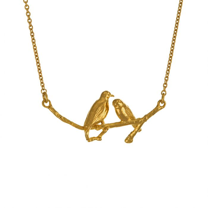 Two Turtle Doves Necklace