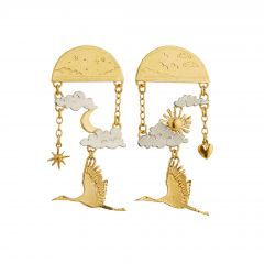 Day-time / Night-time Dream Earrings Product Photo