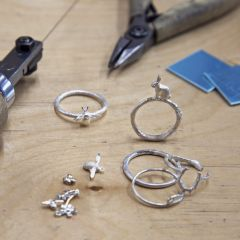 Create your own Stacking Rings | Jewellery School
