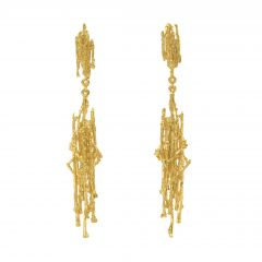 Nest Structure Statement Drop Earrings Product Photo