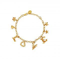 L O V E Mixed Charm Bracelet Product Photo