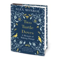 Two Turtle Doves Hardback Book on Paper