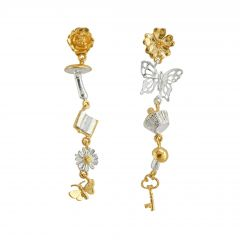 Tumbling Charm Earrings Product Photo