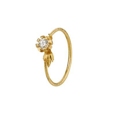 Vine and Leaf Seruni Diamond Ring Product Photo
