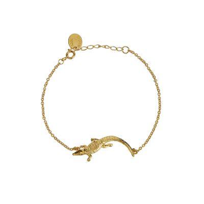 In-Line Crocodile Bracelet Product Photo