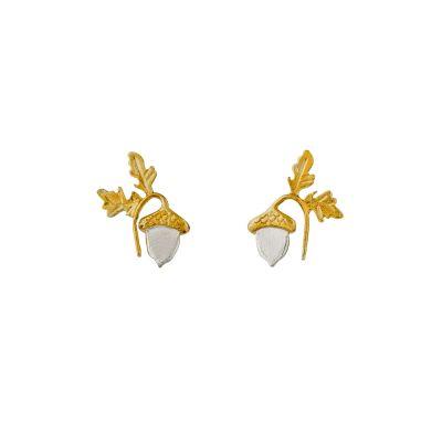 Acorn Kiss Stud Earrings Product Photo