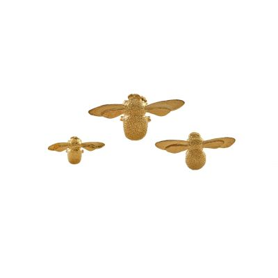 Set of 3 Mixed Size Bee Pins Product Photo