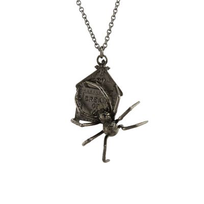 Haunted Dreams Spider Necklace Product Photo