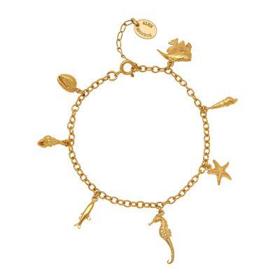 Ocean Life Charm Bracelet Product Photo