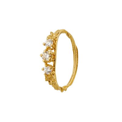 Rosa Centifolia Trilogy Diamond Ring Product Photo