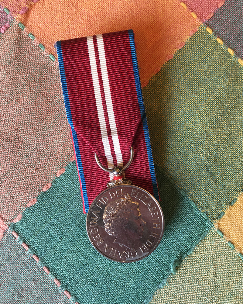 Dwight's Medal for the Queen's Golden Jubilee